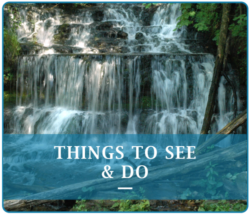 Pictured Rocks Attractions and Waterfalls | Munising Falls     Bridalveil Falls     Chapel Falls     Spray Falls     Miners Falls     Mosquito Falls     Sable Falls     Tannery Falls     Autrain Falls     Laughing Whitefish Falls     Rock River Falls     Scott Falls     Unnamed Falls on Grand Island