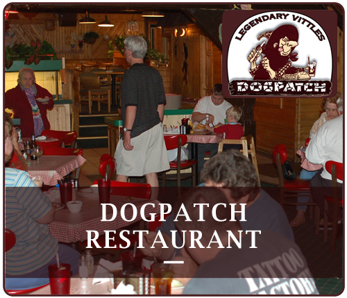 The DogPatch Restaurant is located in Michigan's beautiful Upper Peninsula - downtown Munising on Superior Street. Large parking lot will accommodate snowmobile trailers.